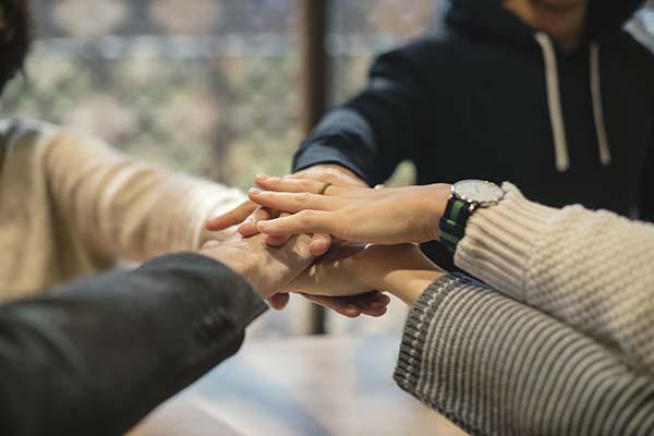 equipo de trabajo para reducir costes empresariales