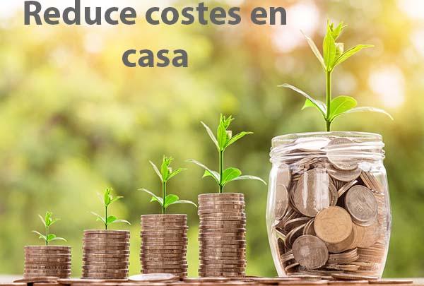 menos gastos en casa, reduce costes en el hogar